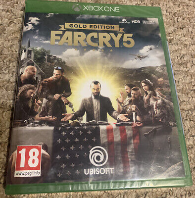 AU54.08 • Buy Farcry 5 Gold Edition Xbox One Brand New & Sealed