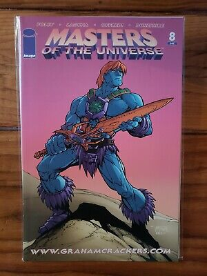 $850 • Buy MOTU Masters Of The Universe #8 MVCreations LE #500 Variant Graham Cracker RARE