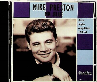 Mike Preston- Mr Blue CD (Vocalion 2006) The Best Of DECCA Single/Greatest Hits  • 14.99£