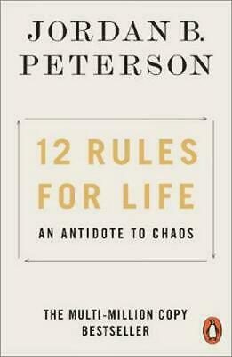 AU16.99 • Buy 12 Rules For Life: An Antidote To Chaos By Jordan B. Peterson - Paperback, 2019
