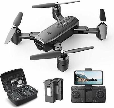 AU135.67 • Buy DEERC D30 Foldable Drone With 1080P FPV HD Camera For Adults, RC Quadcopter