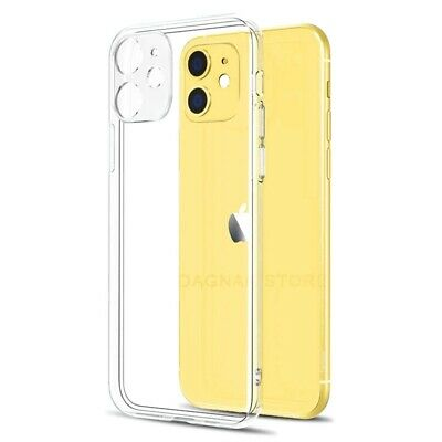 £3.61 • Buy CLEAR Shockproof Case For IPhone 12, 11 Pro Max XR X XS 8 7 6 SE 2 Edge Silicone