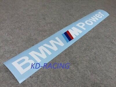 $31.99 • Buy BMW M Power Windshield Decal Sticker 1M M2 CS M3 M4 M5 Competition Free Shipping