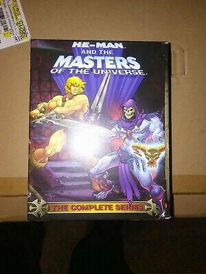 $200 • Buy He - Man And The Masters Of The Universe ( Complete Series, 9 Dvd's, 39 Episodes