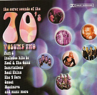 The Super Sounds Of The 70's Vol. 2 - Various (CD 1998) • 2.85£