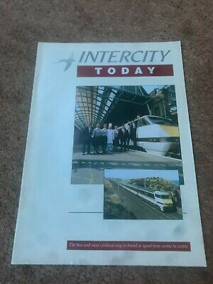 Intercity Today Magazine- Very Rare Some Fascinating Articles VGC More Listed • 7.99£
