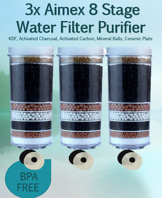 AU65 • Buy 8 Stage Water Filter Replacement Filter For Aimex Water Purifier And Dispenser
