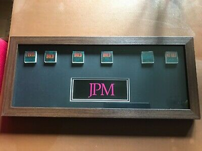 JPM Monopoly 60 Fruit Machine Professionally Framed Hold And Exchange Reel Butto • 400£