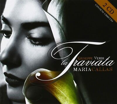 Maria Callas La Traviata 2 CD Giuseppe Verdi - Very Good Condition • 9.99£