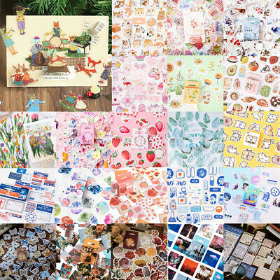 AU3.99 • Buy Kawaii Stickers Paper Stationery Bullet Journal Japanese Sticker Diary Gift Book