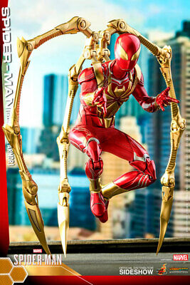 $ CDN314.07 • Buy Hot Toys Marvel Spider-Man Iron Spider Armor 1/6 Scale Figure VGM38 In Stock USA