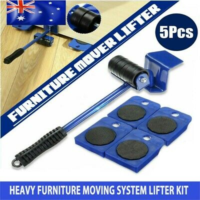 AU16.99 • Buy Heavy Furniture Moving System Lifter Kit W/4 Slider Glider Pad Sofa Easy Mover