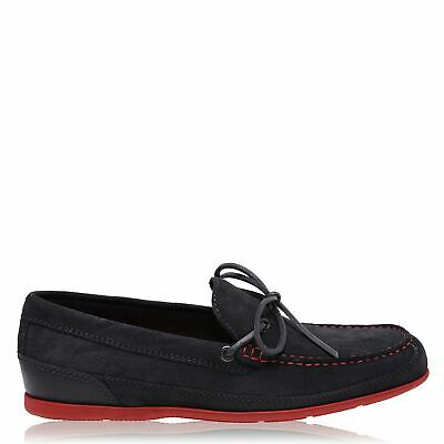 Rockport Malc Tie Footwear Mens Gents Loafers Shoes Suede • 40£