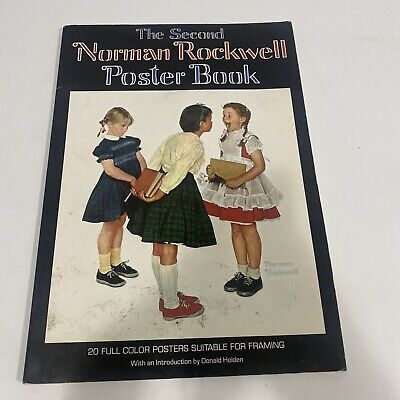 $ CDN24.97 • Buy The Second Norman Rockwell Poster Book By Rockwell Norman 1st Printing 1977