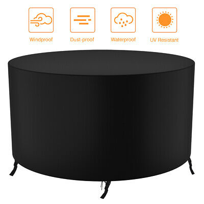 AU24.69 • Buy Outdoor Furniture Round Cover Waterproof Garden Table Chair Shelter Protector AU