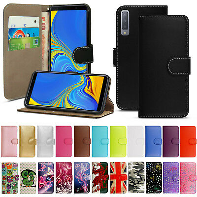 £1.99 • Buy Case For Samsung Galaxy A3 A5 2017 A6 A7 A8 Book Flip Wallet Leather Phone Cover