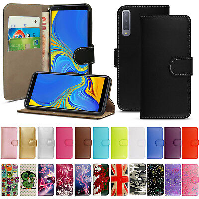 Case For Samsung Galaxy A3 A5 A6 A7 A8 Plus A9 Flip Leather Wallet Phone Cover • 3.49£