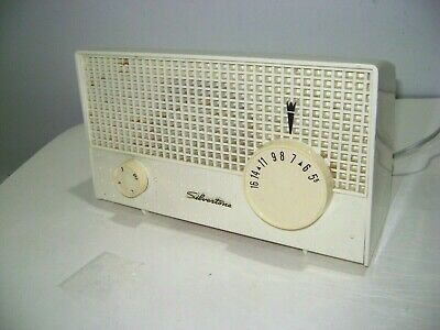$ CDN35.52 • Buy Vintage Sears Silvertone AM Tube Radio Model 2002 White