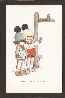 $4.13 • Buy Mabel Lucie Attwell. Comic Children.  Shall Us? Let`s!   To GRETNA.