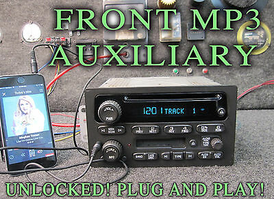 $310 • Buy 03 04 05 CHEVY GM GMC TRUCK SUV RADIO CD DISC CASSETTE Player MP3 IPOD AUXILIARY