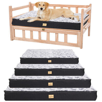 £49.99 • Buy Large Dog Bed For Dog Raised Bed Kennel Cage Mat Waterproof Cushion Pet Mattress