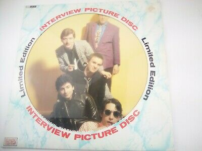 £11.95 • Buy Jools Holland Squeeze - Interview Picture Disc LP NM/VG Baktabak Records