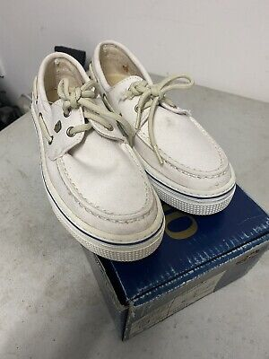 £12.50 • Buy DUBARRY BAHAMAS DECK BOAT SHOES IN WHITE UK SIZE 3.5 Eur 36 NEW IN BOX .