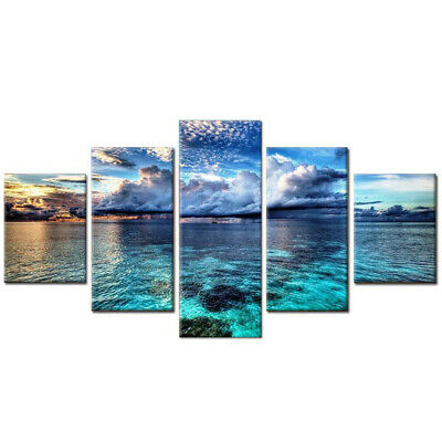 AU18.95 • Buy Ocean 5D Diamond Painting Full Drill Embroidery Crafts Kits Decorations 95*45cm