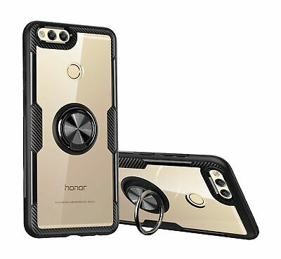 $ CDN50.76 • Buy SORAKA Clear Case For Honor 7X With 360 Degree Rotation Ring Holder Slim Fit ...