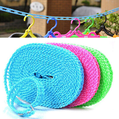£1.99 • Buy Non-slip Nylon Washing Clothesline Outdoor Travel Camping Clothes Line Rope