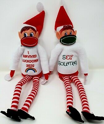 £2.49 • Buy Elf Accessories Props On The Shelf Christmas Games Clothes Dolls Lockdown 2020