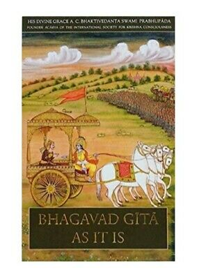 AU48.99 • Buy Bhagavad Gita As It Is Deluxe Edition (English, Hardcover,By A.C. Bhaktivedanta)