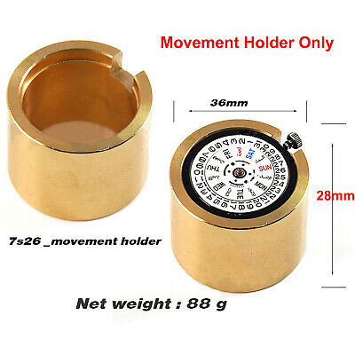 AU21.95 • Buy Watch Movement Holder Fit For 7S26 7S36 Movement Modding Repair Tool Parts