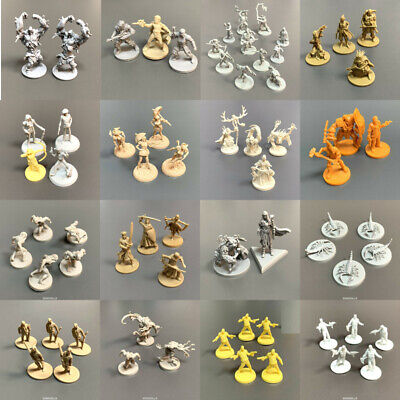 AU6.36 • Buy Lot Dungeons & Dragons Monster Soldier Hero Miniatures Board Game Figures Toys