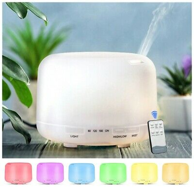 AU21.83 • Buy Essential Oil Diffuser Humidifier Ultrasonic Aroma Diffuser Cool-Mist Humidifier