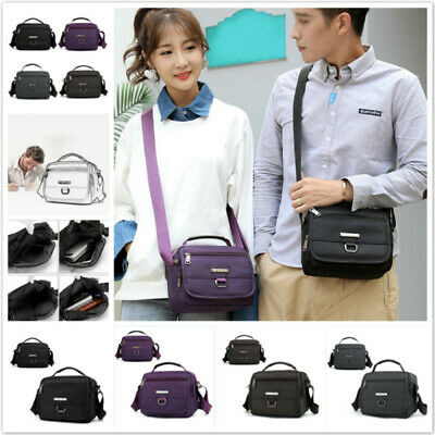 $ CDN15.54 • Buy Women Men Shoulder Bag Handbags Nylon Crossbody Purse Tote Zipper Satchel DP