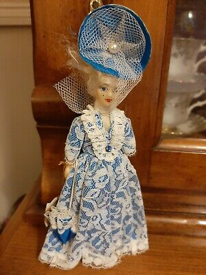 £12 • Buy Vintage EMPIRE MADE BY REXARD Costume Doll