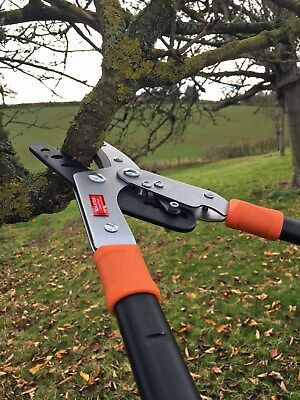 Telescopic Ratchet Anvil Pruner,lopper Pruners, Branch Cutters,garden Pruning • 35£