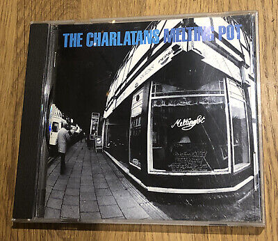 The Charlatans - Melting Pot - Best Of CD - Original 1998 Version • 0.99£