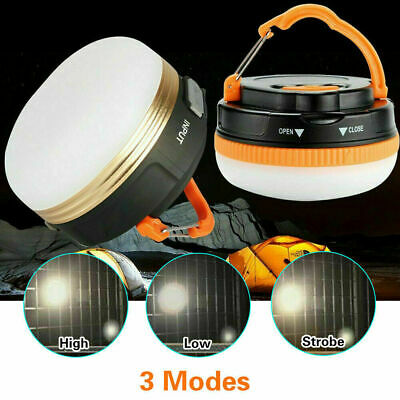AU17.99 • Buy Portable Rechargeable LED Hiking Camping Tent Lantern Light USB Lamp Outdoor