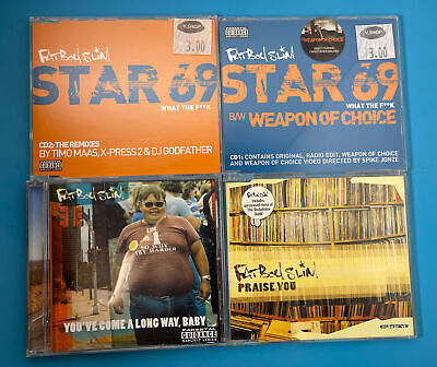 £8 • Buy Fatboy Slim - Praise You - Uk Cd Single Star 69 And You've Come A Long Way Baby