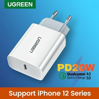 $ CDN18.73 • Buy Ugreen Quick Charger 4.0 20W  3.0 QC PD Charger For IPhone 12 X Xs