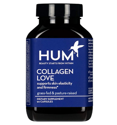 $18.59 • Buy HUM Collagen Love - Type I & III Collagen Peptides Skincare Supplement With Hyal