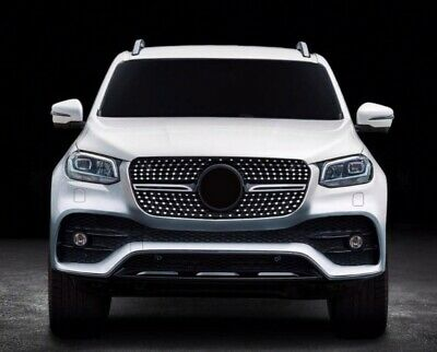 AU489.99 • Buy Diamond Style Front Bumper Grille For Mercedes-Benz X-Class Pick Up Ute W470 17-
