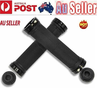 AU11.80 • Buy 1Pair Bike Handlebar Grips MTB/BMX Rubber Non-slip Durable Bicycle Handle Grips