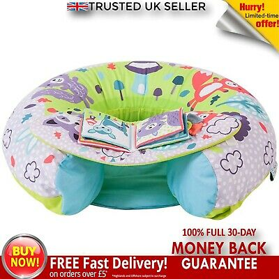 Sit Me Up Inflatable Ring Baby Play Chair Tray Playnest Activity Seat Peppermint • 21.45£