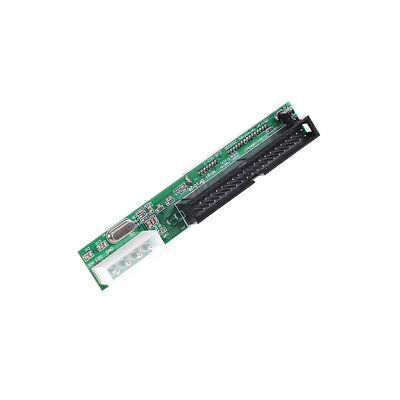 SATA Ssd Hdd Female Hard Drive To Ide 3.5  40 Pin Male Converter Card Adapter OS • 7.36£