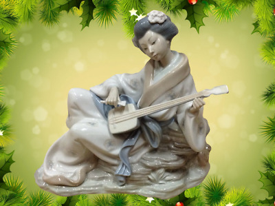 £150 • Buy Lovely Rare Nao By Lladro Oriental Melody No 227 Figurine Made In Spain SU1876