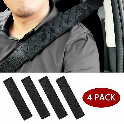 4Pcs Car Seat Belt Pads Harness Safety Shoulder Strap BackPack Cushion Covers UK • 5.99£
