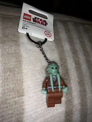 Lego Star Wars Kit Fisto Keyring NEW With Tags • 7.99£
